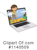Laptop Clipart #1140509 by Graphics RF