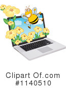 Laptop Clipart #1140510 by Graphics RF