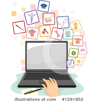Notebook Clipart #1291852 by BNP Design Studio