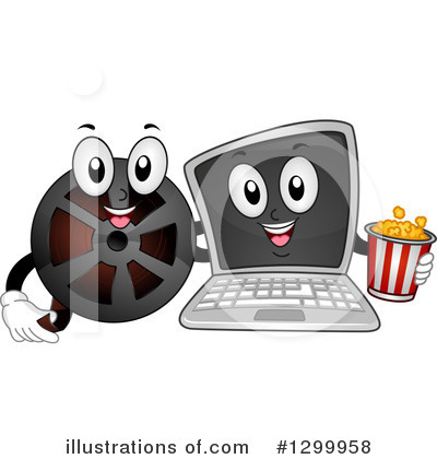 Movies Clipart #1299958 by BNP Design Studio