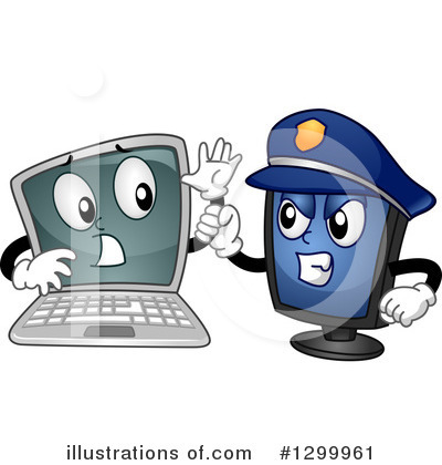 Police Clipart #1299961 by BNP Design Studio