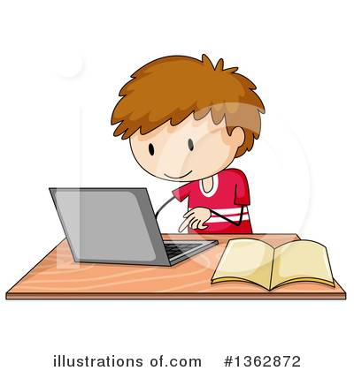 Computer Clipart #1362872 by Graphics RF