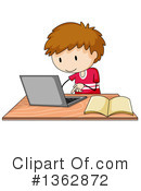 Royalty-Free (RF) Laptop Clipart Illustration #1362872