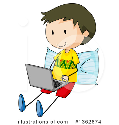 Computer Clipart #1362874 by Graphics RF