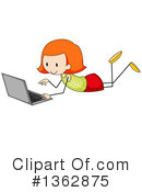 Laptop Clipart #1362875 by Graphics RF