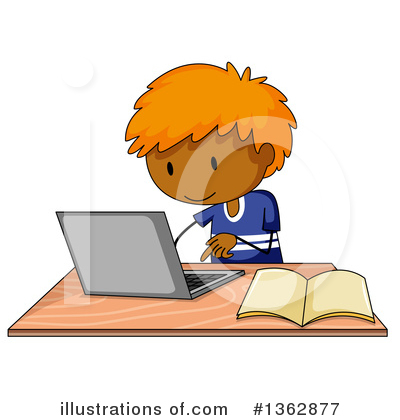 Laptop Clipart #1362877 by Graphics RF
