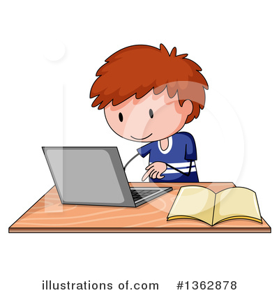 Laptop Clipart #1362878 by Graphics RF
