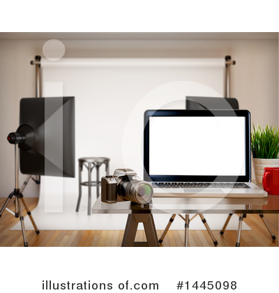Laptop Clipart #1445098 by Texelart