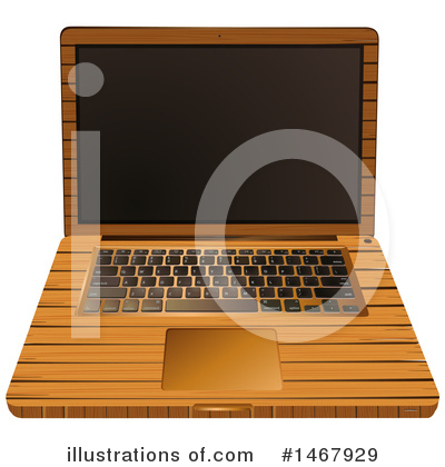 Laptop Clipart #1467929 by Graphics RF