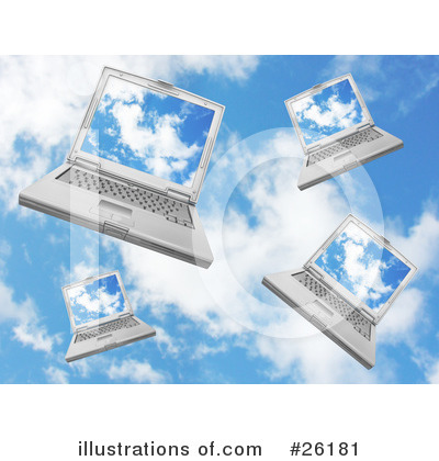 Laptop Clipart #26181 by KJ Pargeter