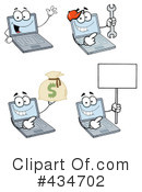 Laptop Clipart #434702 by Hit Toon