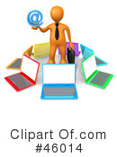 Laptop Clipart #46014 by 3poD