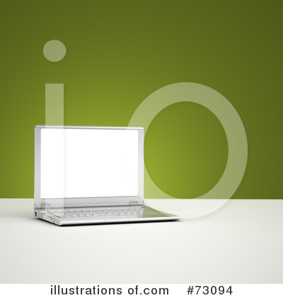 Laptop Clipart #73094 by stockillustrations