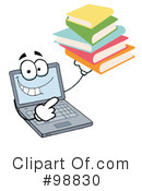 Laptop Clipart #98830 by Hit Toon