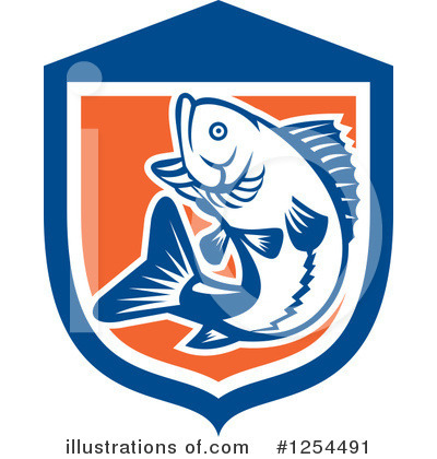 Fish Clipart #1254491 by patrimonio