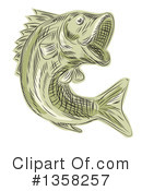 Largemouth Bass Clipart #1358257