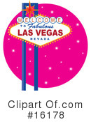 Royalty-Free (RF) Las Vegas Clipart Illustration #16178