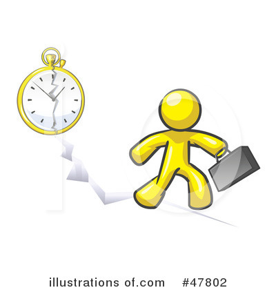 Yellow Design Mascot Clipart #47802 by Leo Blanchette