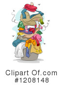 Royalty-Free (RF) Laundry Clipart Illustration #1208148