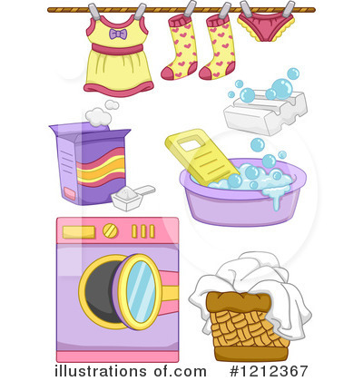 Washing Machine Clipart #1212367 by BNP Design Studio