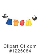Laundry Clipart #1226084 by Graphics RF