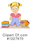 Royalty-Free (RF) Laundry Clipart Illustration #1227970