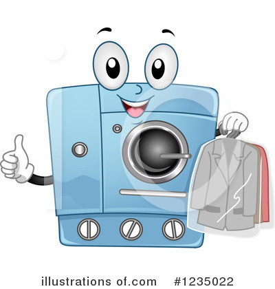 Washing Machine Clipart #1235022 by BNP Design Studio