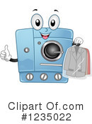 Royalty-Free (RF) Laundry Clipart Illustration #1235022