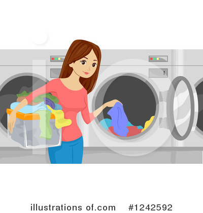 Washing Machine Clipart #1242592 by BNP Design Studio