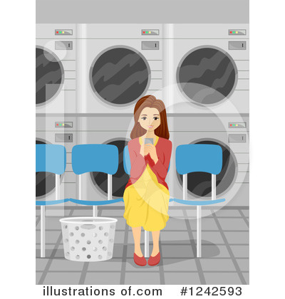 Washing Machine Clipart #1242593 by BNP Design Studio
