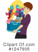 Laundry Clipart #1247905 by BNP Design Studio