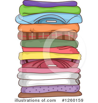 Laundry Clipart #1260159 by BNP Design Studio