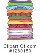 Royalty-Free (RF) Laundry Clipart Illustration #1260159