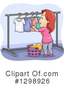 Laundry Clipart #1298926 by BNP Design Studio