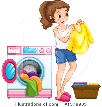 Girl Clipart #1379905 by Graphics RF