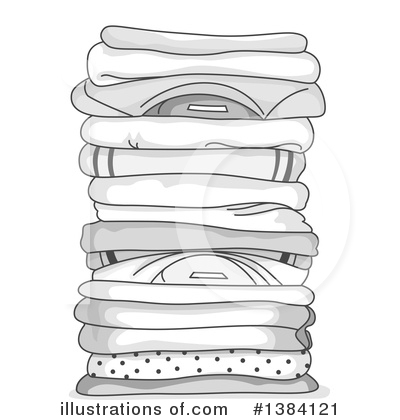 Laundry Clipart #1384121 by BNP Design Studio
