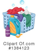 Royalty-Free (RF) Laundry Clipart Illustration #1384123