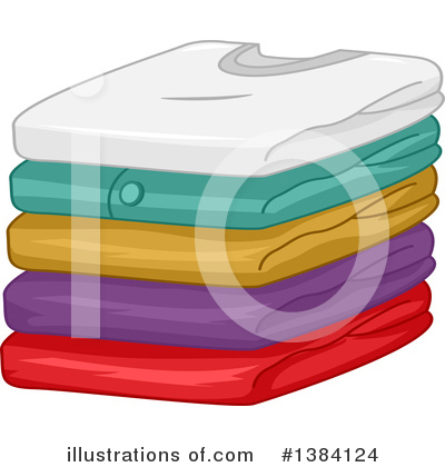 Royalty-Free (RF) Laundry Clipart Illustration by BNP Design Studio - Stock Sample #1384124