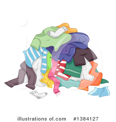 Laundry Clipart #1384127 by BNP Design Studio