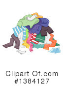 Royalty-Free (RF) Laundry Clipart Illustration #1384127