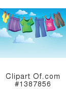 Royalty-Free (RF) Laundry Clipart Illustration #1387856