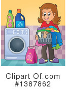 Laundry Clipart #1387862 by visekart