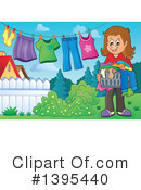 Laundry Clipart #1395440 by visekart
