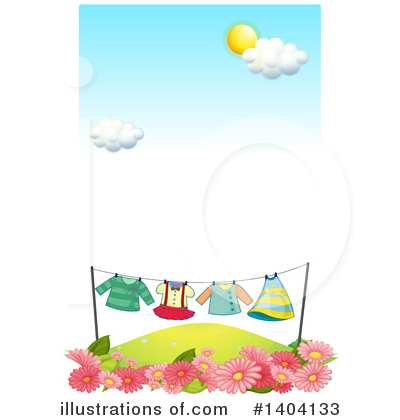 Laundry Clipart #1404133 by Graphics RF