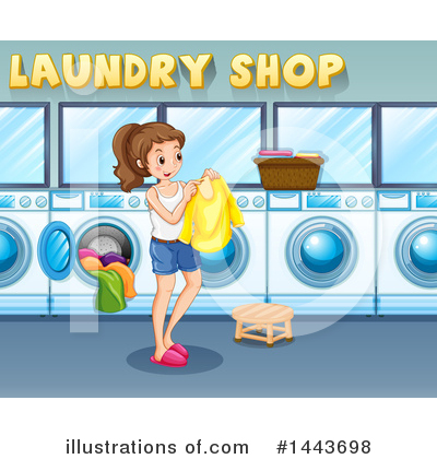 Laundry Clipart #1443698 by Graphics RF