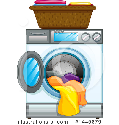 Laundry Clipart #1445879 by Graphics RF