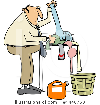 Laundry Clipart #1446750 by djart