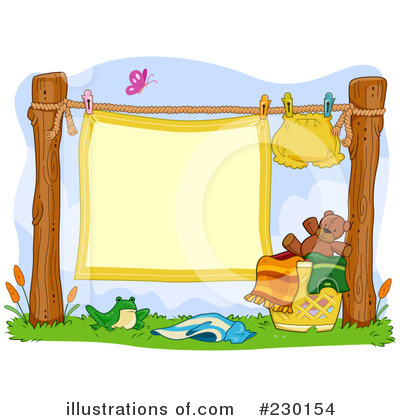 Laundry Clipart #230154 by BNP Design Studio