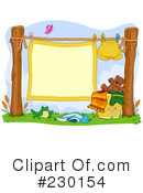 Royalty-Free (RF) Laundry Clipart Illustration #230154