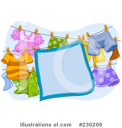 Laundry Clipart #230206 by BNP Design Studio